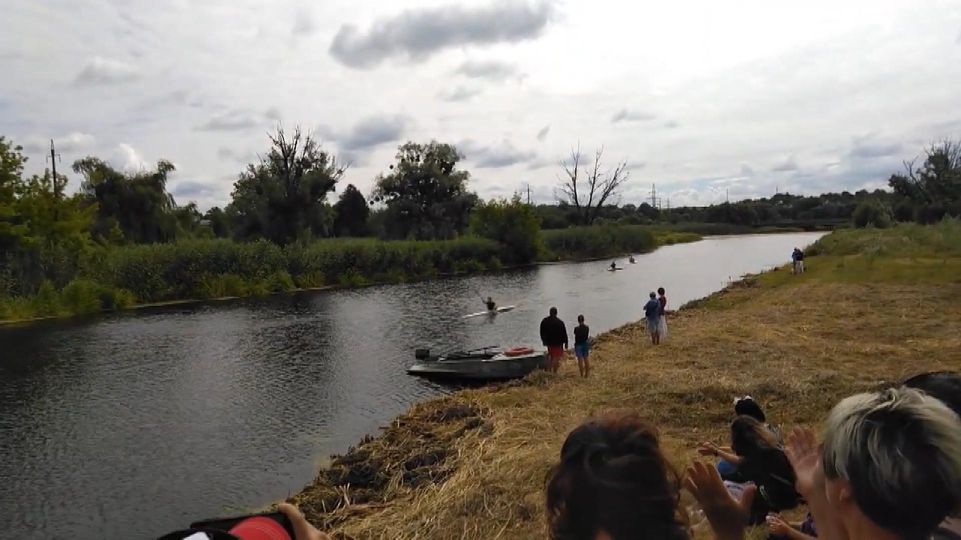 змагання з веслування на байдарках і каное серед ветеранів «Тясминська регата»