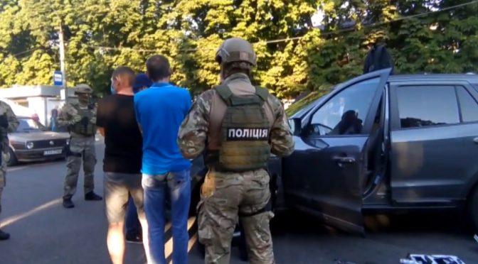 На станції Шевченка у Смілі правоохоронці затримали банду крадіїв із Сумщини