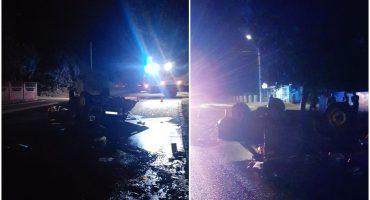 У Корсунь-Шевченківському перевернувся автомобіль: постраждали двоє