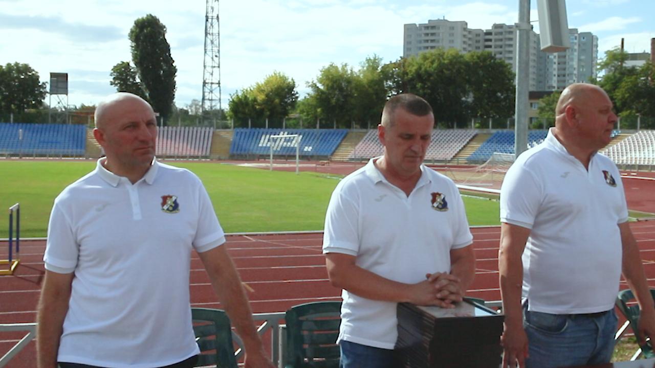 Анатолій Бондаренко зустрівся зі спортсменами МСК «Дніпро»