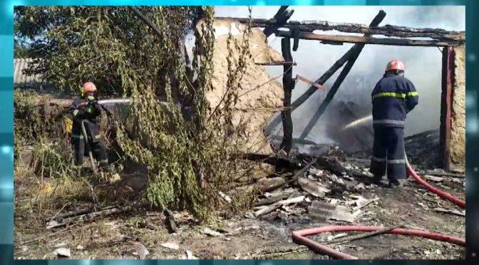У селах Смілянщини горіли споруди