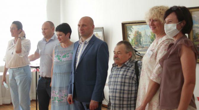В обласному художньому музеї до Дня Незалежності відкрито виставку