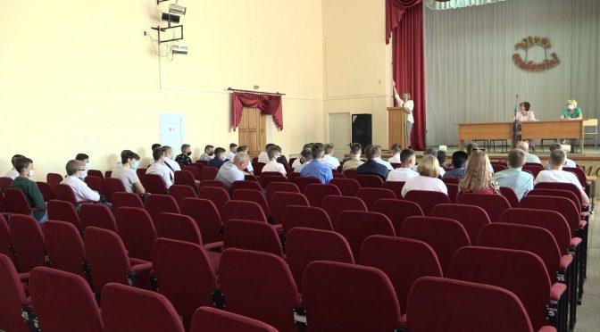 Замість лінійки — конференція першокурсників у Смілянському технологічному фаховому коледжі