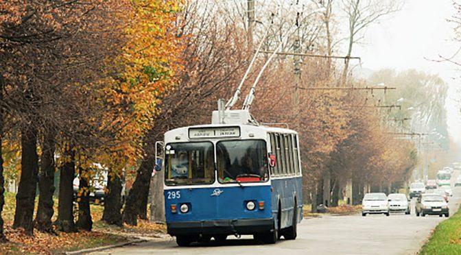 13 жовтня зміниться рух тролейбусів №1, 3, 7: до 16.00 вони здійснюватимуть розворот на вул.Можайського