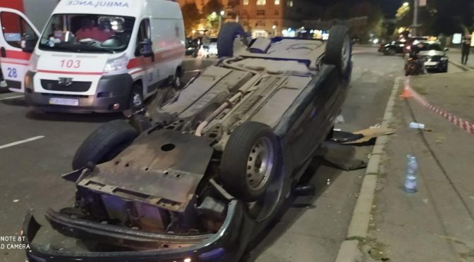 У вихідні прямісінько в центрі Черкас сталася смертельна ДТП. Загинув молодий хлопець