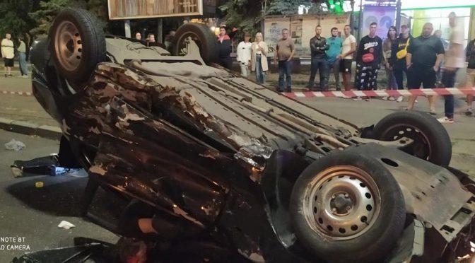 У ДТП у центрі Черкас загинув 19-річний поліцейський