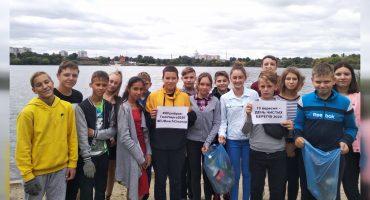 Учні «Школи на Тясмином» прибрали берег річки