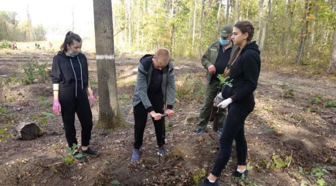 Смілянські Лідерці долучились до всеукраїнської акції «Озеленення України»