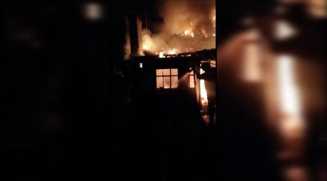 На Золотоніщині через розпалювання печі бензином згорів житловий будинок