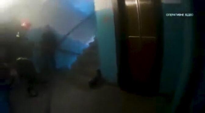 У Черкасах під час пожежі у багатоперхівці врятували жінку