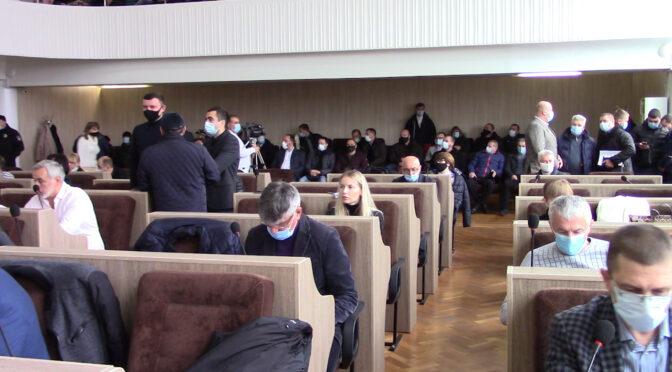 У Черкасах відбулася остання сесія за участі депутатів Черкаської міської ради VIII скликання