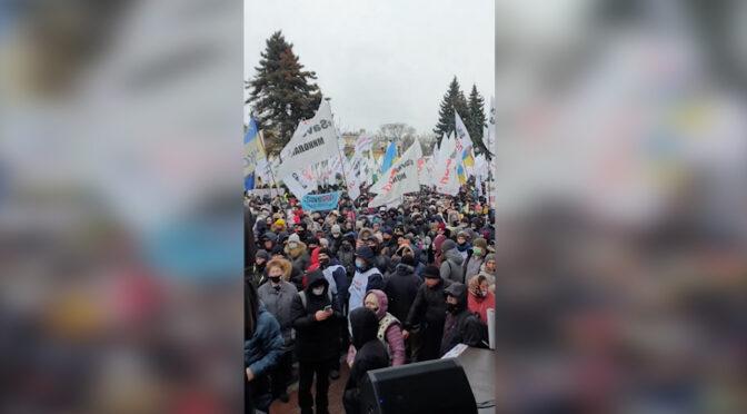 Черкаські ФОПи взяли участь в акціях протесту у Києві