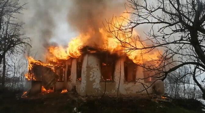 На Драбівщині сталася пожежа в житловому будинку внаслідок експлуатації пічного опалення
