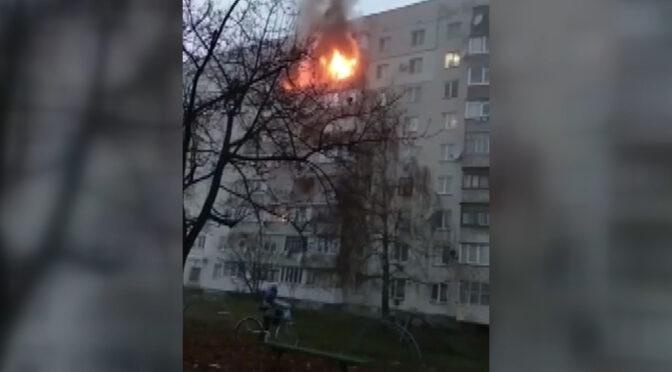 Смілянські рятувальники ліквідували пожежу в багатоповерхівці