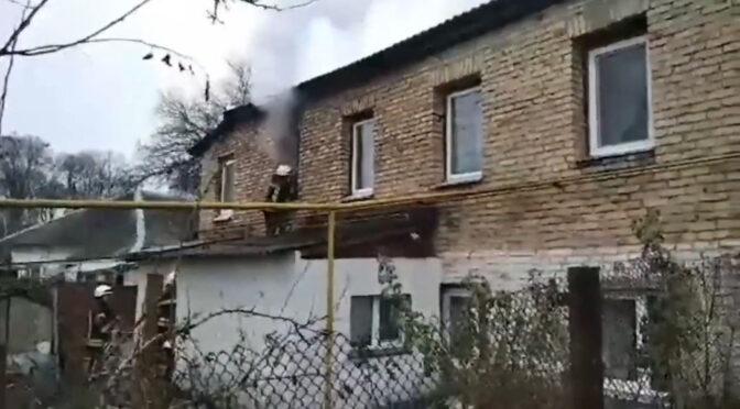 У Черкасах поблизу Пагорба Слави горів будинок