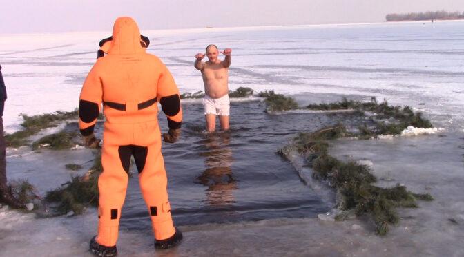 У Черкасах на Водохреще купалися в ополонці