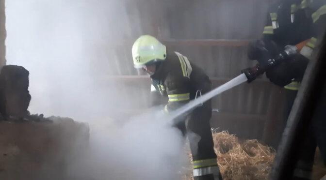 На Черкащині через порушення правил безпеки при експуатації печей горять будинки