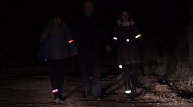 Пішоходи обов'язково мають носити світловідбивачі