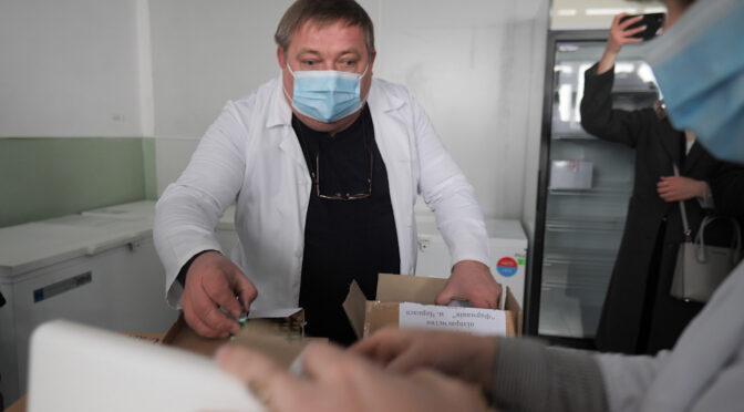 Перша партія вакцини проти COVID19 в Черкасах