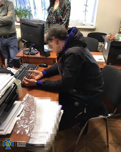УСБУ в Черкаській області, держпродслужба, хабар,