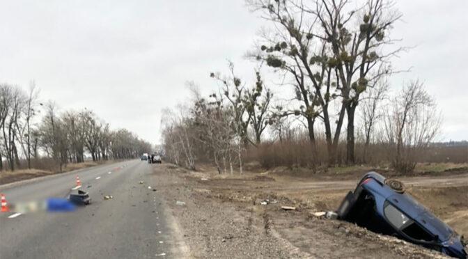 У Золотоніському районі Lanos злетів у кювет — пасажирка загинула на місці