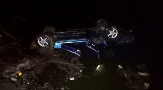 На Уманщині автомобіль з'їхав у ставок, троє черкащан загинули