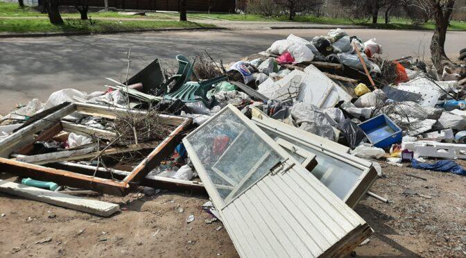 """У районі """"Д"""" утворився """"вічний смітник"""", куди звозять сміття не лише мешканці навколишніх сіл, а й навіть одне з комунальних підприємств"""