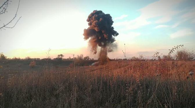 Рятувальники знищили 2 вибухонебезпечні предмети часів Другої світової війни