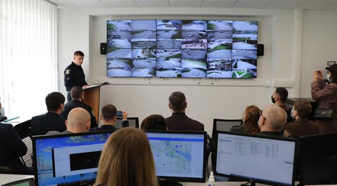У Черкасах запрацювала система відеоспостереження «Безпечна Черкащина», в яку інтегровано 202 камери
