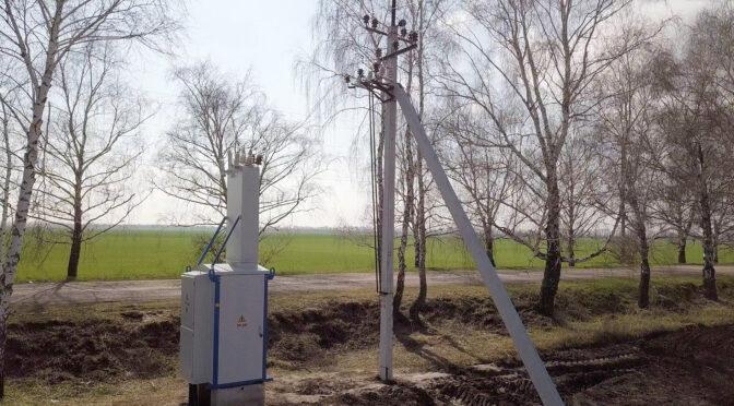 У Боровиці на Чигиринщині «Черкасиобленерго» збудувало нову трансформаторну підстанцію для забезпечення якісною електроенергією новий комплекс зрошувальних систем