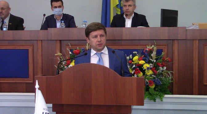"""В облраді підняли питання передачі 45% акцій """"Черкасиобленерго"""" в обласну комунальну власність"""