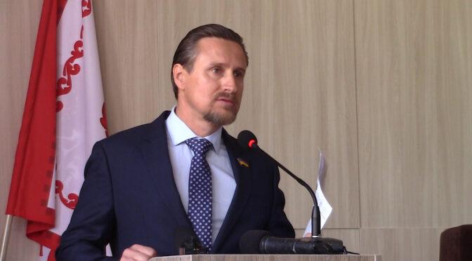 Юрій Котолуп з трибуни висловив намір скласти депутатський мандат