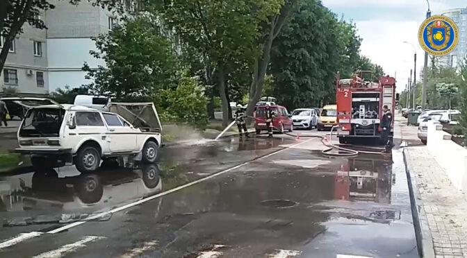 У Черкасах внаслідок ДТП перекинувся автомобіль