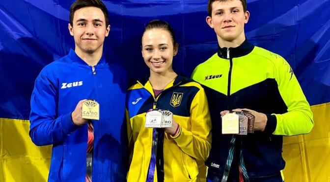 Черкаські гімнасти Ілля Ковтун та Назар Чепурний привезли з Каїра 7 нагород Кубку світу
