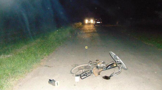 На Чорнобаївщині в ДТП загинув 46-річний велосипедист, велосипед якого був обладнаний двигуном і пересувався без будь-яких світлових приладів чи світлоповертальних елементів