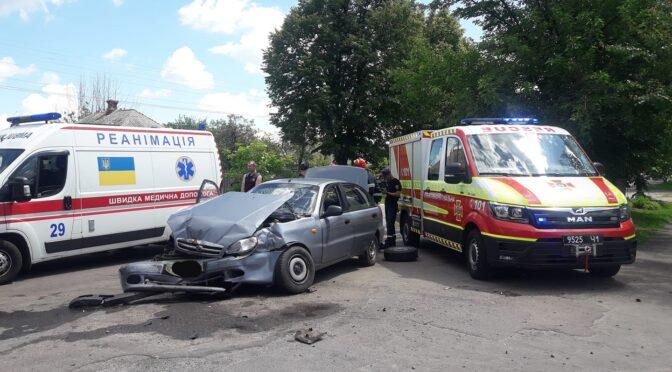 У Руській Поляні на перехресті сталась ДТП, у якій травмувалися 4 осіб
