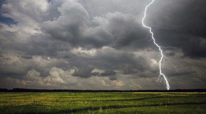 З 26 липня в Україну прийде новий циклон із грозами, зливами, шквалами