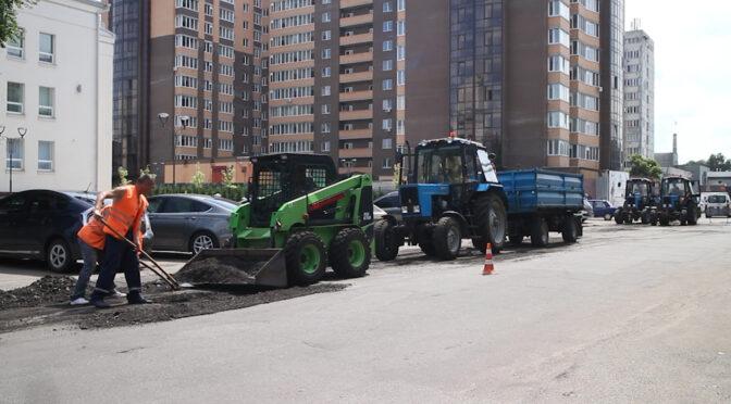 ЧЕЛУАШ виконує клаптиковий ремонт дороги по вул. Дашкевича між бульваром Шевченка та вул. Гоголя