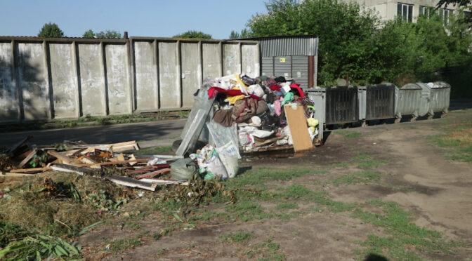 Аби вивезти негабаритне сміття, потрібно замовляти цю послугу індивідуально