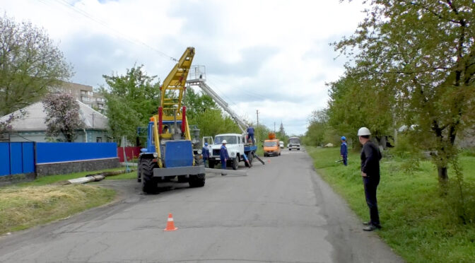 ПАТ «Черкасиобленерго» модернізує лінії електропередачі у Смілянській міській філії