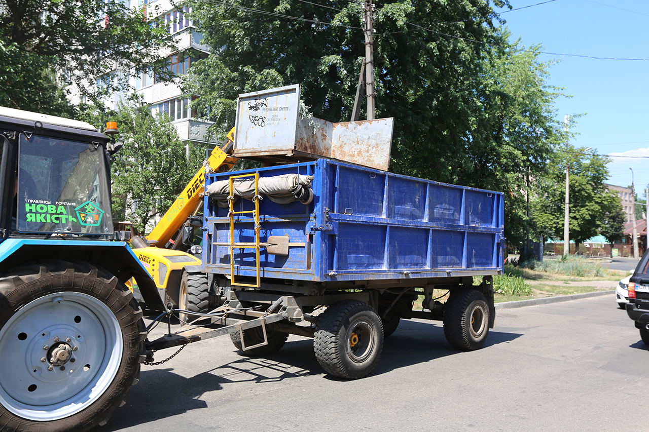 Нова якість вивезення негабаритного сміття