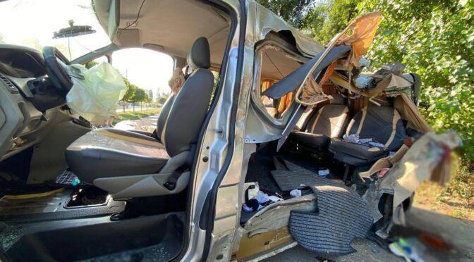 Поблизу пляжу «Пушкінський» у Черкасах п'яний водій спричинив смертельну ДТП: шестеро осіб у лікарні, молода дівчина загинула