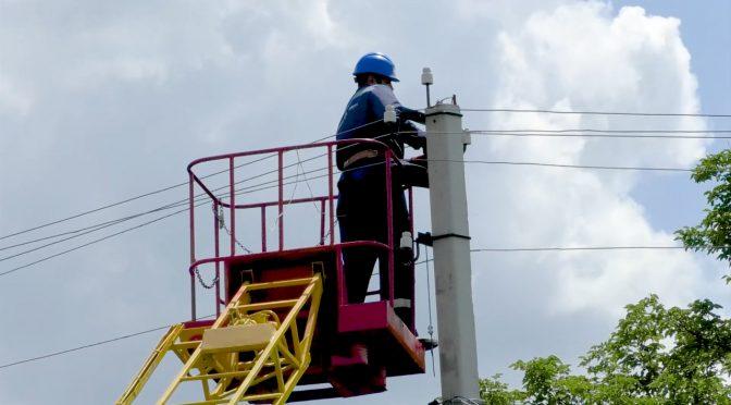 На Драбівщині оновлюють лінії електромереж