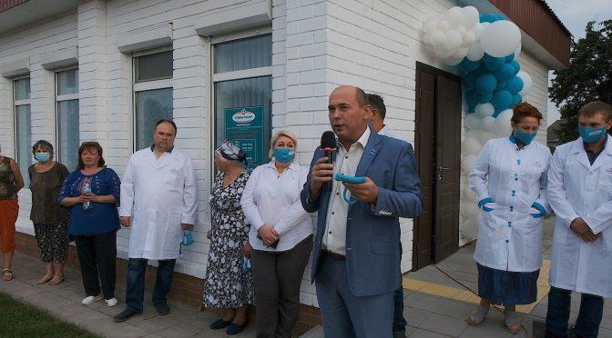 У Драбові розпочала працювати перша з найсучасніших амбулаторій сімейної медицини мережі «Я ВАШ ЛІКАР» на Черкащині