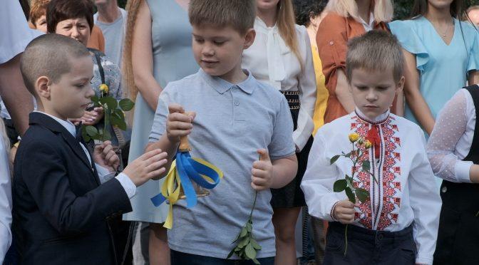 У черкаських школах пролунав перший дзвоник для 2893 першачків
