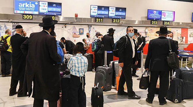Десятки паломників повертаються з Умані в Ізраїль із підробленими тестами на COVID-19 — ізраїльські ЗМІ