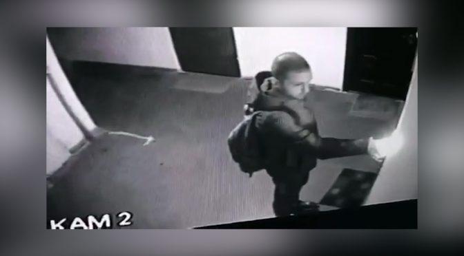 У Черкасах розшукують чоловіка, який підпалив кілька вхідних дверей у під'їзді будинку по вул. Сумгаїтській