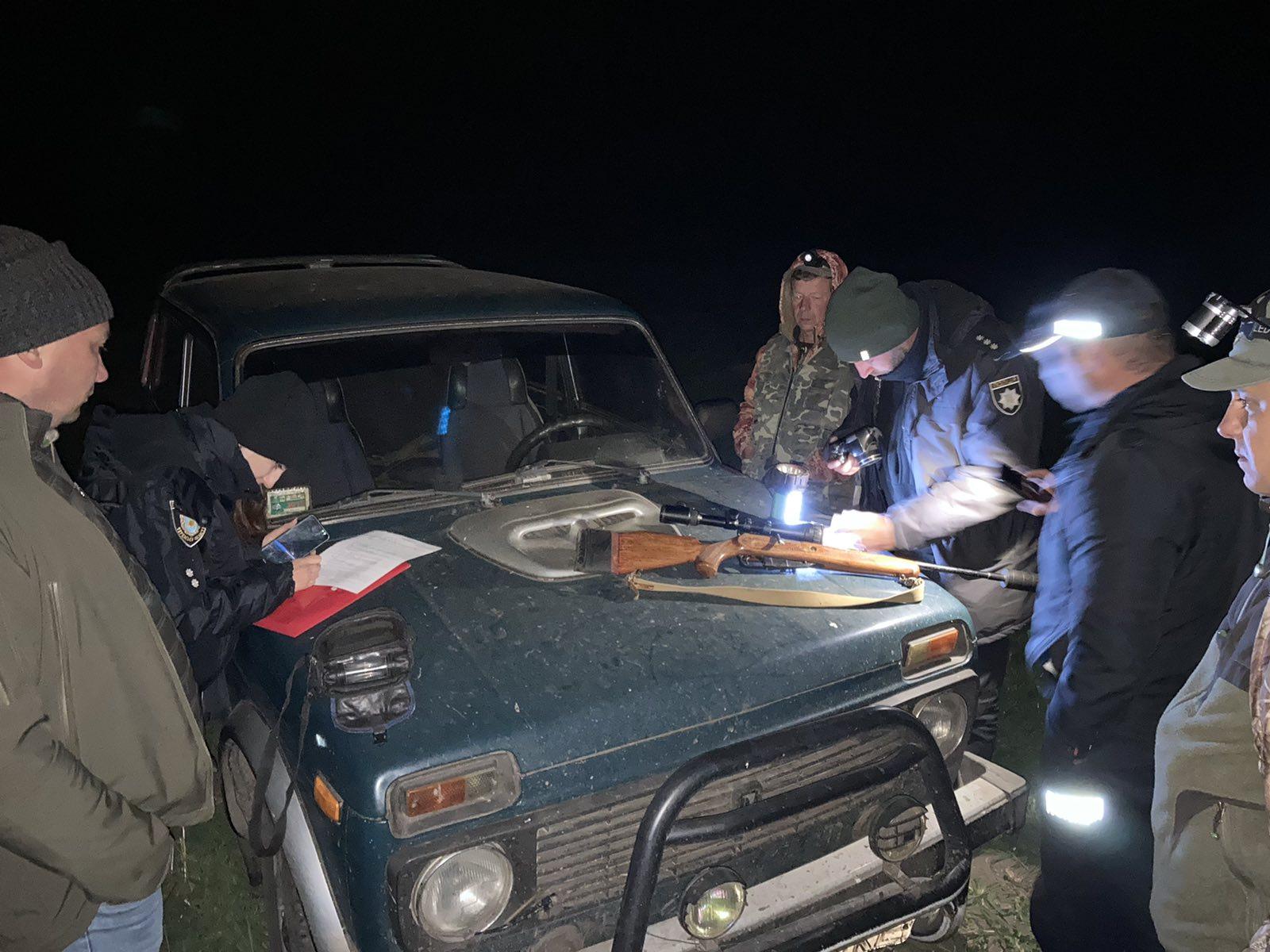 єгер мисливського господарства почув постріл з нарізної зброї поблизу села Домантове Золотонського району