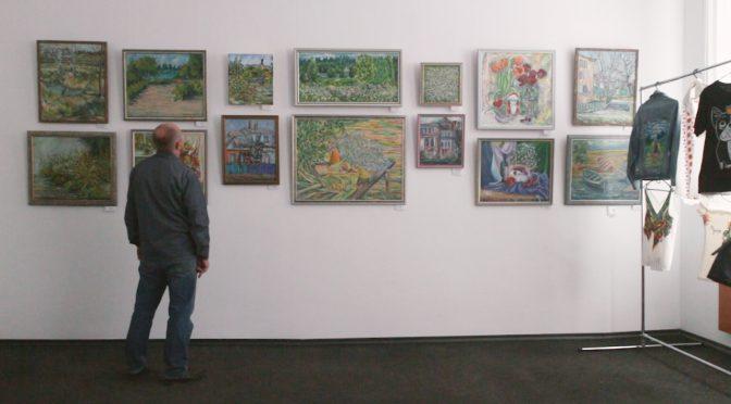 У Художньому музеї триває виставка живопису Анастасії Тиненик (Козюрак)