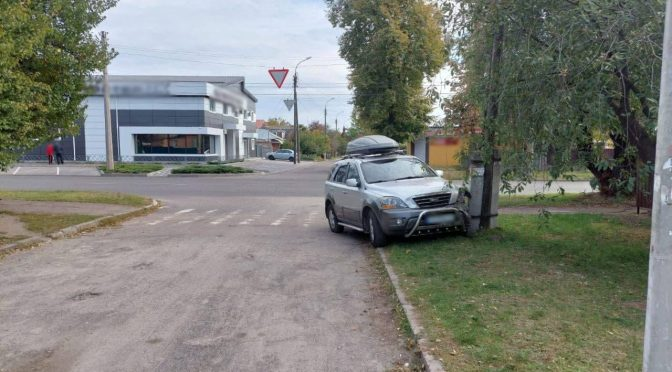 ДТП у Черкасах водійка наїхала на пішохода